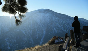 Mount Baden-Powell in Wrightwood CA from Inspiration Point.