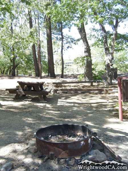 Lake Campground in Wrightwood CA