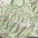 Map of Jackson Flat Group Campground - Wrightwood CA