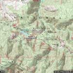 Map of Lake Campground - Wrightwood CA