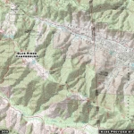 Map of Blue Ridge Campground - Wrightwood CA