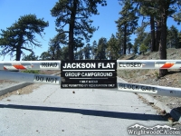 Road to Jackson Flat Group Campground from Grassy Hollow - Wrightwood CA Camping