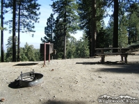 Table Mountain Campground - Wrightwood CA