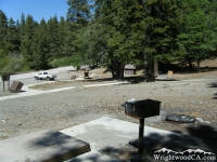 Campsites in Apple Tree Campground - Wrightwood CA Camping