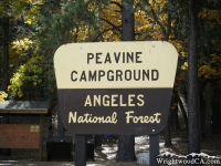 Peavine Campground near Jackson Lake - Wrightwood CA Camping