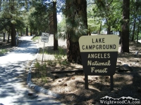 Lake Campground at Jackson Lake - Wrightwood CA Camping