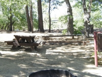 Campsite in Lake Campground - Wrightwood CA Camping