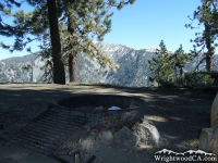 Campsite in Guffy Campground - Wrightwood CA Camping