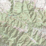 Map of Jackson Lake - Wrightwood CA