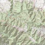 Map of Jackson Lake - Wrightwood CA