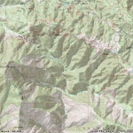 Map of Vincent Gap - Wrightwood CA