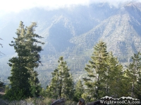 Prairie Fork from Pine Mountain Ridge - Wrightwood CA