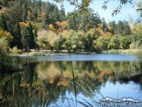 Jackson Lake in the fall - Wrightwood CA
