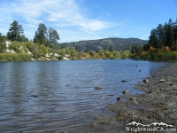 Looking toward Table Mountain from Jackson Lake - Wrightwood CA