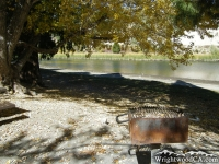 Stove at Jackson Lake Picnic Area - Wrightwood CA