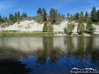 Reflection on Jackson Lake - Wrightwood CA