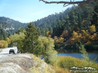 Big Pines Highway and Jackson Lake - Wrightwood CA