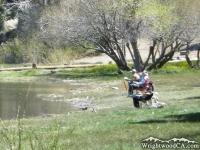 Fishing at Jackson Lake - Wrightwood CA