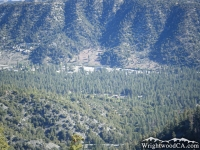 Looking down at Swarthout Valley from Blue Ridge - Wrightwood CA