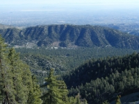 Swarthout Valley as viewed from Blue Ridge - Wrightwood CA