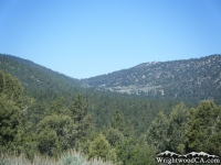 Blue Ridge (left), Swarthout Valley (center) and Table Mountain (right) - Wrightwood CA
