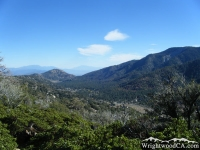 Swarthout Valley as viewed from Table Mountain - Wrightwood CA