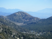 Circle Mountain above Swarthout Valley (Wrightwood) - Wrightwood CA