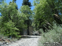 Water Tank in Acorn Canyon - Wrightwood CA