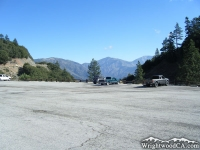 Parking Lot of Vincent Gap at bottom of Mt Baden Powell - Wrightwood CA
