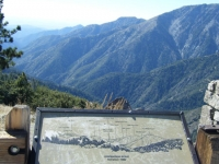 Inspiration Point and San Gabriel River Basin - Wrightwood CA