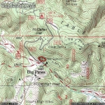 Map of Big Pines Nature Trail - Wrightwood CA Hiking