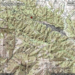 Big Pines Nature Trail Area Map - Wrightwood CA Hiking