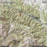 Blue Ridge Trail Area Map - Wrightwood CA Hiking