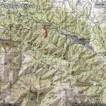 Blue Ridge Trail Area Map - Wrightwood CA Hiking