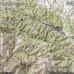Lightning Ridge Nature Trail Area Map - Wrightwood CA Hiking