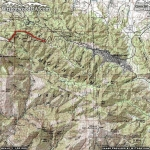 Pacific Crest Trail (Vincent Gap to Inspiration Point) Area Map - Wrightwood CA Hiking