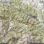 Pacific Crest Trail (Guffy Campground to Wright Mountain) Area Map - Wrightwood CA Hiking