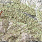 Mt Baden Powell Trail Area Map - Wrightwood CA Hiking