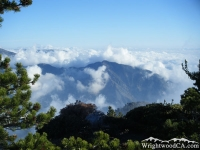 Iron Mountain viewed from Mt Baden Powell Trail - Wrightwood CA Hiking