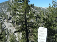 Start of North Backbone Trail on backside of Wright Mountain - Wrightwood CA Hiking