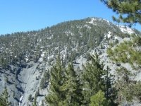 Pine Mountain on North Backbone Trail - Wrightwood CA Hiking
