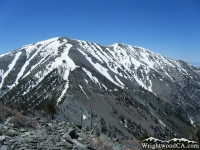 Mt Baldy on North Backbone Trail - Wrightwood CA Hiking