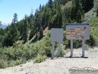 Bighorn Mine Trail at Mine Gulch Trail split - Wrightwood CA Hiking