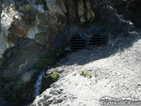 Mining tunnels on Bighorn Mine Trail - Wrightwood CA Hiking