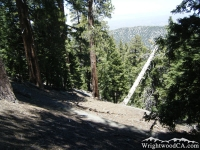 Switchbacks on Acorn Trail - Wrightwood CA Hiking