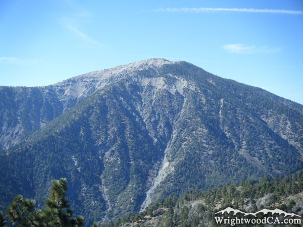 Mt Baden-Powell in the San Gabriel Mountains