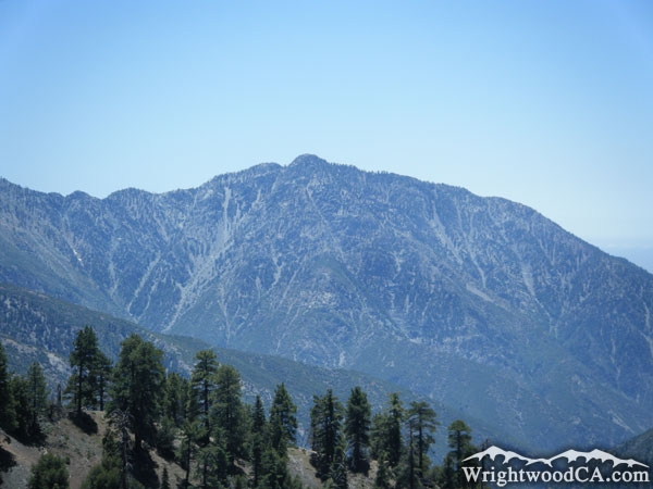 Wrightwood Elevation : Iron mountain
