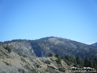Inspiration Point in front of Blue Ridge - Wrightwood CA Mountains
