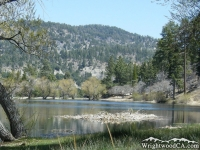 Table Mountain in background of Jackson Lake - Wrightwood CA Mountains