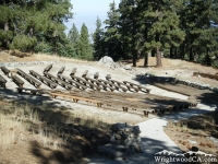 Amphitheater in Table Mountain Campground - Wrightwood CA Mountains